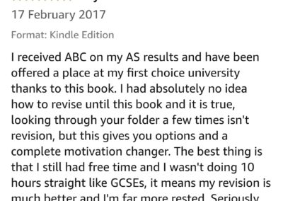 A-level-Student Reviews 113