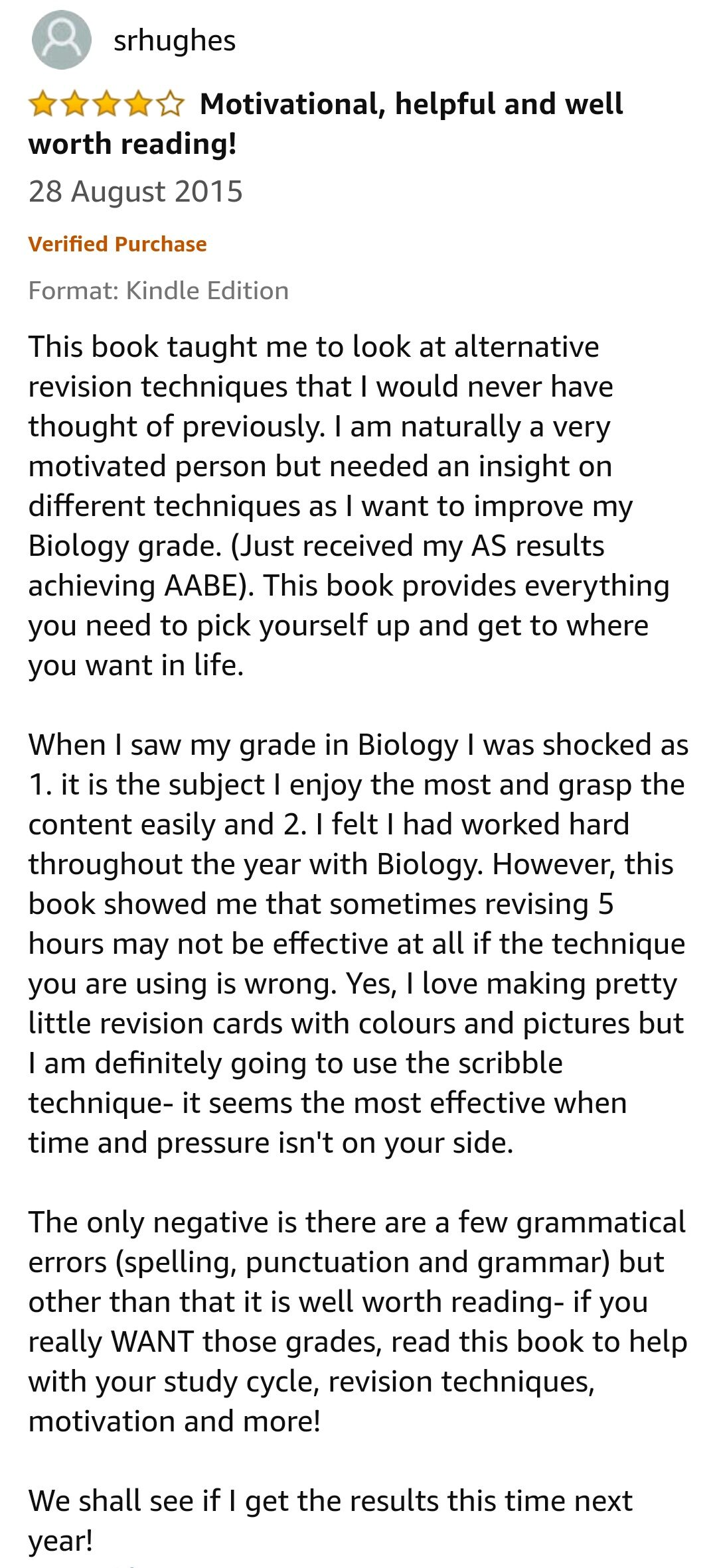 A-level-Student Reviews 133