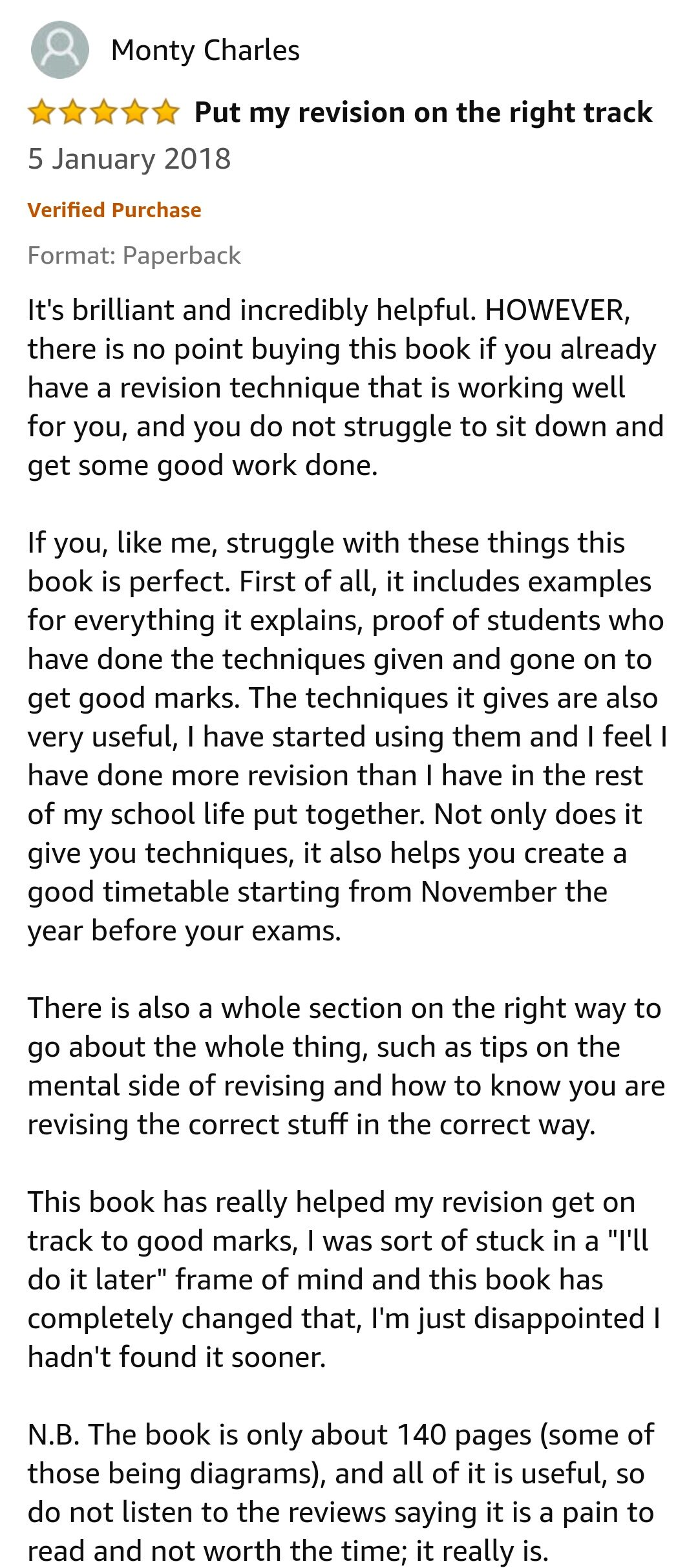 GCSE Reviews 10