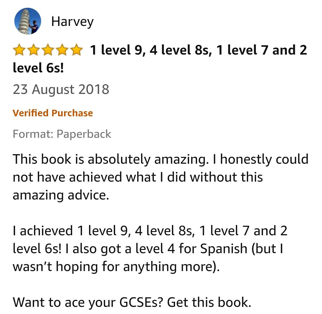 GCSE Reviews 111