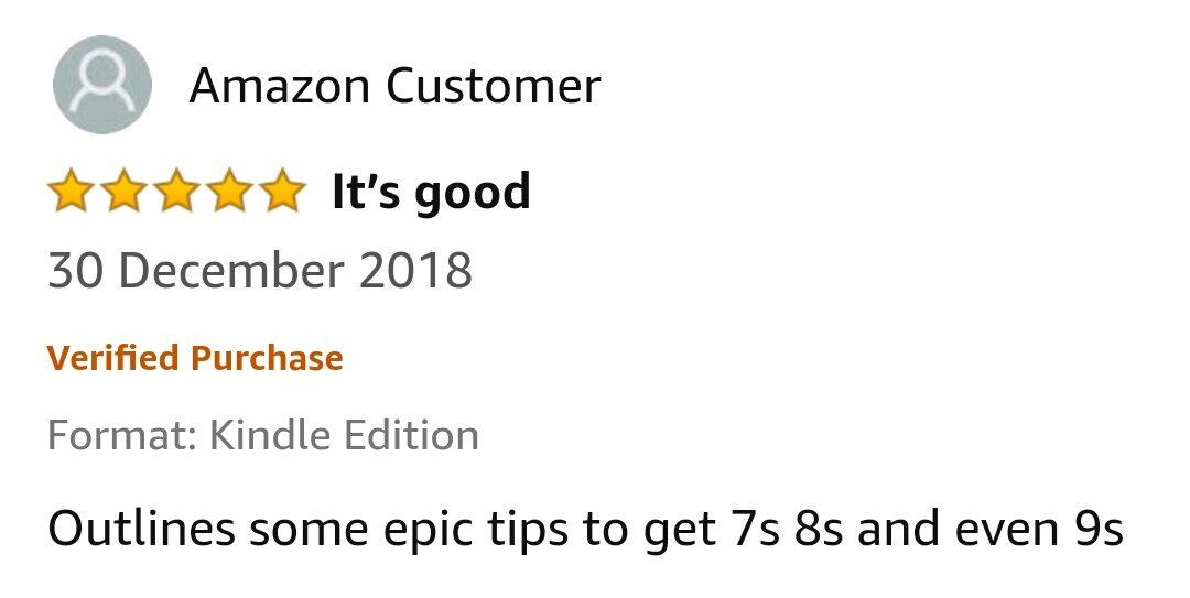 GCSE Reviews 4