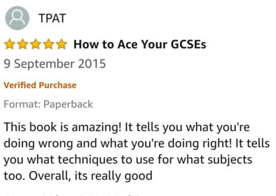 GCSE Reviews 5