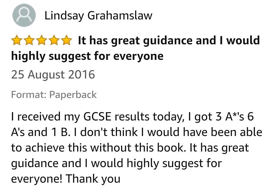 GCSE Reviews 74