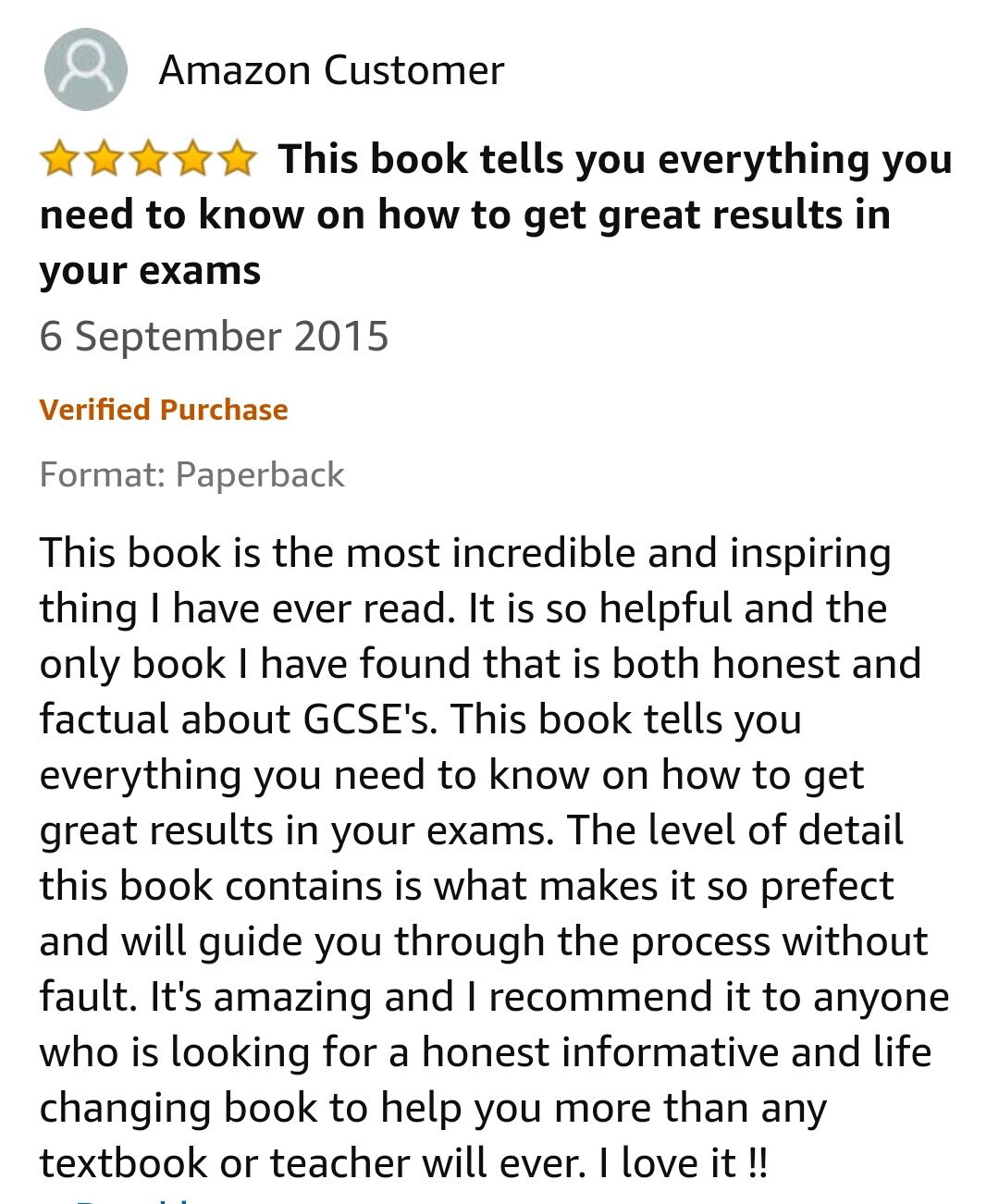 GCSE Reviews 75