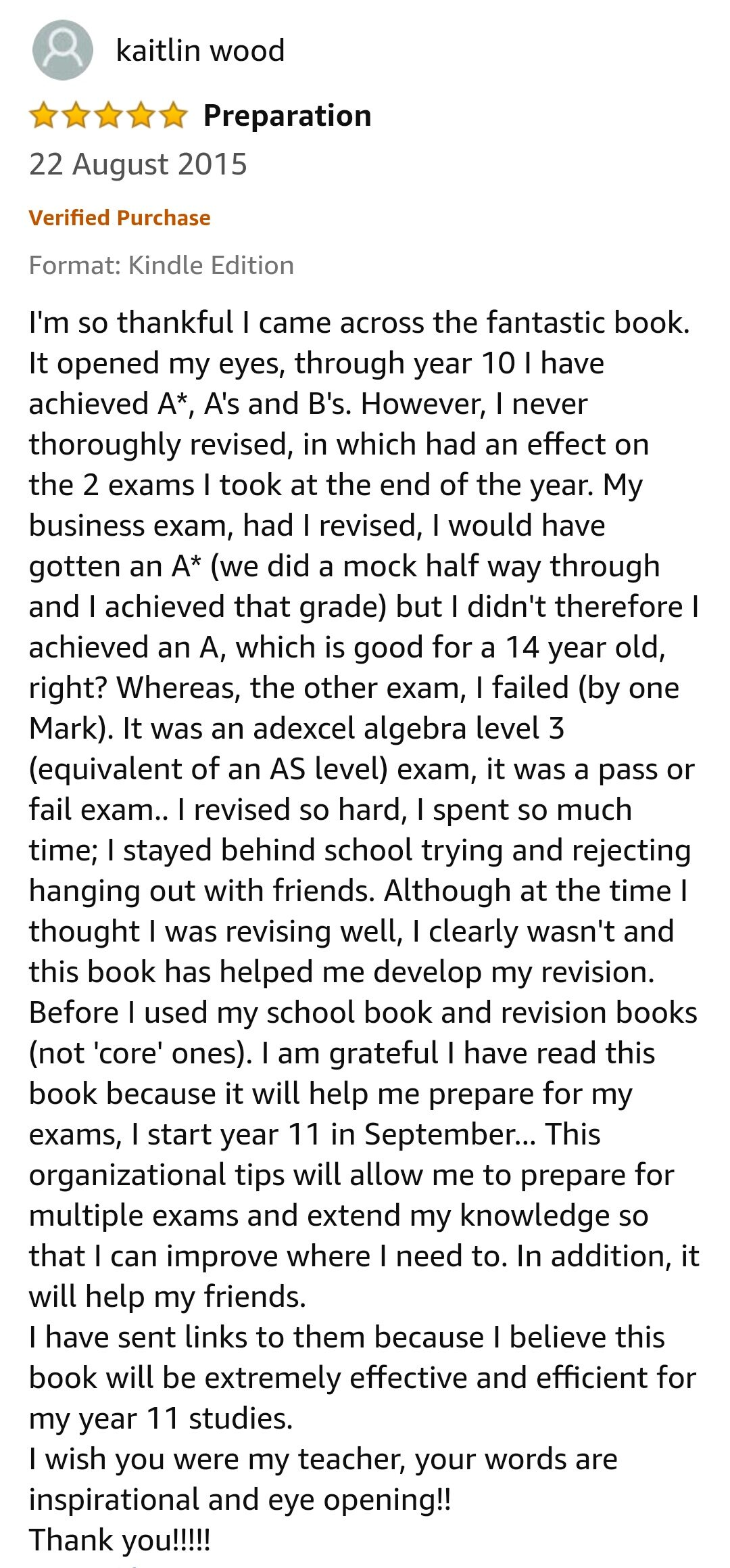 GCSE Reviews 85