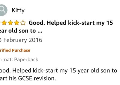 GCSE Reviews 95
